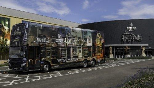 Warner Bros Studio Tour Branded Bus