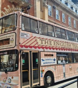 York Afternoon Tea Bus