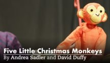 Five Little Christmas Monkeys